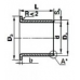 Втулки скольжения - Втулка скольжения с фланцем KF30260SF1SN (PCMF303426E) ISB от производителя ISB