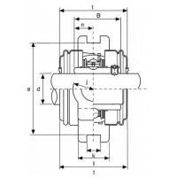 Подшипниковый узел UCT206 ISB EcoLine