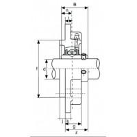 Подшипниковый узел UCFC210 ISB EcoLine