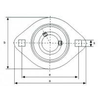 Подшипниковый узел BPFL6-SB ISB