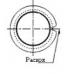 Втулки скольжения - Втулка скольжения с фланцем KF12090SF1-1F ISB от производителя ISB