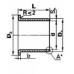 Втулки скольжения - Втулка скольжения с фланцем KF4016SF1SN (PCMF404416E) ISB от производителя ISB
